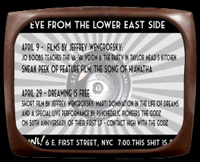 Eye from the Lower East  Side